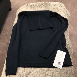 NWT Lululemon Sweat and Savasana Navy sweater